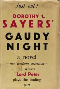 Book Cover Gaudy Night