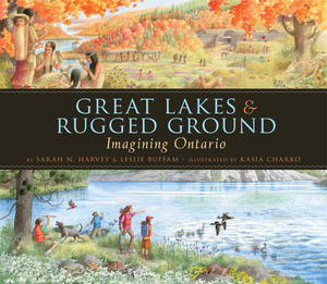 Book Cover Great Lakes and Rugged Ground