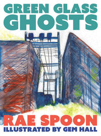 Book Cover Green Glass Ghosts