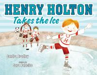 Book Cover Henry Holton Takes the Ice