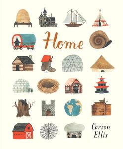 Book Cover Home Carson Ellis