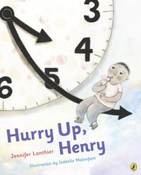 Book Cover Hurry Up Henry