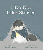 Book Cover I Do Not Like Stories