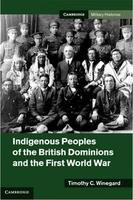 Book Cover Indiginous Peoples and the First World War