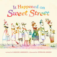 Book Cover It Happened on Sweet Street