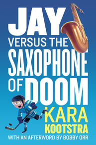 Book Cover Jay and the Saxophone of Doom