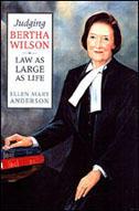 Book Cover Judging Bertha Wilson