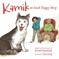 Book Cover Kamik an Inuit Puppy Story