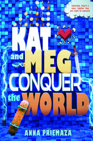 Book Cover Kat and Meg Conquer the World