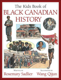 Book Cover Kids Book of Black Canadian History