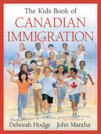 Book Cover Kids Book of Canadian Immigration