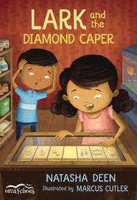 Book Cover Lark and the Diamond Caper