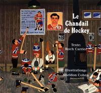 Book Cover le chandial de hockey