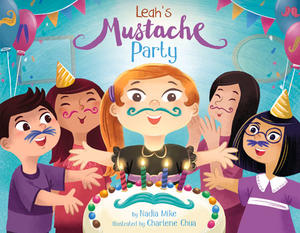 Book Cover Leah's Mustache Party