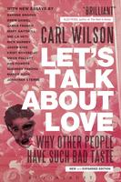 Book Cover Let's Talk About Love