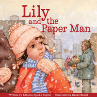 Book Cover Lily and the Paper Man