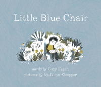 Book Cover Little Blue Chair