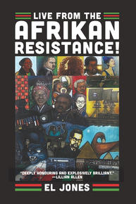 Book Cover Live at the Afrikan Resistance