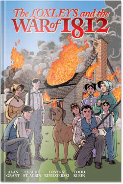 Book Cover Loxleys and the War of 1812