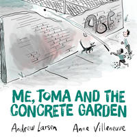 Book Cover Me Toma and the Concrete Garden