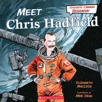 Book Cover Meet Chris Hadfield