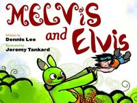 Book Cover Melvis and Elvis