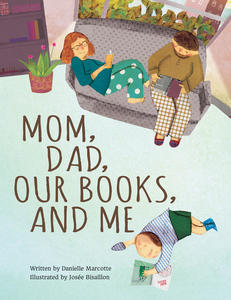 Book Cover Mom Dad Our Books and Me