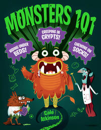 Book Cover Monsters 101