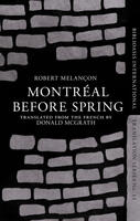 Book Cover Montreal Before Spring