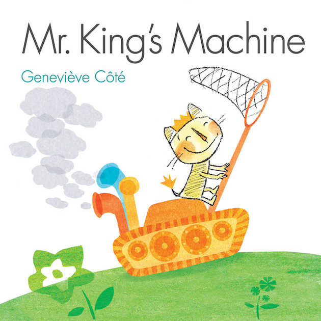 Book Cover Mr King's Machine