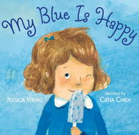 Book Cover My Blue is Happy
