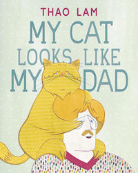 Book Cover My Cat Looks Like My Dad