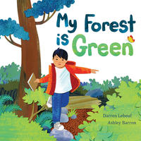 Book Cover My Forest is Green