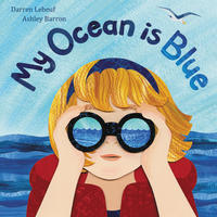 Book Cover My Ocean is Blue