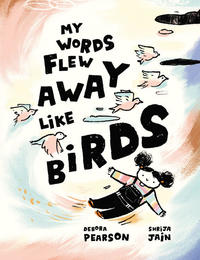Book Cover My Words Flew Away like Nirds