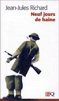Book Cover Neuf jours de haine