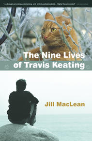 Book Cover Nine Lives of Travis Keating