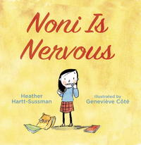 Book Cover Noni is Nervous