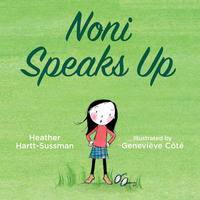 Book Cover Noni Speaks Up