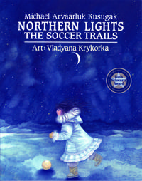 Book Cover Northern Lights the Soccer Trail