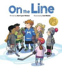 Book Cover On the Line