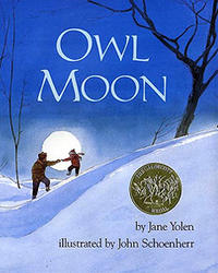 Book Cover Owl Moon