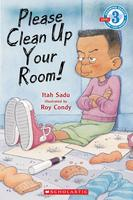 Book Cover Please Clean Up Your Room