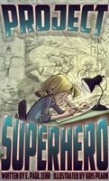 Book Cover Project Superhero