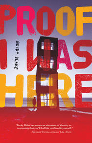 Book Cover Proof I Was Here
