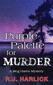 Book Cover Purple Palette for Murder