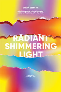 Book Cover Radiant Shimmering Light
