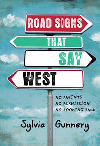 Book Cover Road Signs That Say West