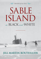 Book Cover Sable Island in Black and White