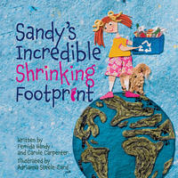Book Cover Sandy's Incredible Shrinking Footprint